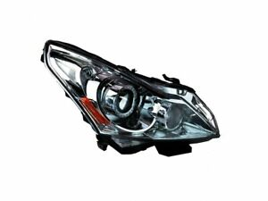 Right Headlight Assembly For 10-13, 15 Infiniti G25 G37 Q40 Journey Base DJ36V1