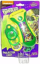 Teenage Mutant Ninja Turtles Flashlight & Projector Includes 3 Image Plates