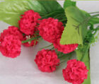 Silk Rose Peony Flower Bouquet Flower Handmade Home Bridal Wedding Party Decor