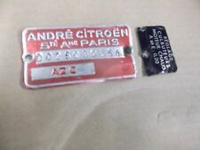 CITROEN AZC MOTOR id placa 1300 + CITROEN PIEZAS EN TIENDA
