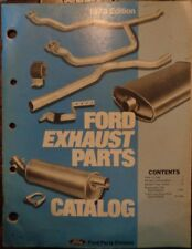 1973 Ford Exhaust Parts Catalog Manual