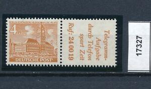 17327) Perfekt: Berlin Zd W 29 einwandfrei postfrisch ** + gepr. BPP (KW 90,00!)
