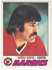 1977-78 OPC HOCKEY #21 DENNIS MARUK 2ND YEAR - EX/EX+