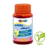 PEDIAKID Gommes Omega 3 Box of 60 gums For concentration, attention and memory