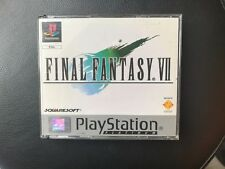 FINAL FANTASY  VII - 7 - Platinum PAL PS1 Play Station 1 - USATO