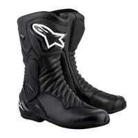 Alpinestars SMX 6 v2 Gore-Tex Waterproof Motorcycle Motorbike Boot Black