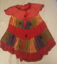 INDIA BOUTIQUE colorful flowing one size dress