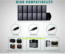 Allpowers 12V 80W Foldable Solar Panel Power Station Charger Laptop Phone