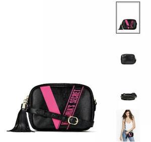 VICTORIA'S SECRET Ribbon Logo Convertible City Crossbody Belt Bag