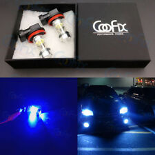 NEW 2x H8 H9 H11 H16 10000K Deep Blue 100W LED CREE Headlight Bulb Kit Fog Light
