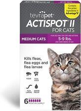 TevraPet Actispot Ii Flea Prevention for Cats- 6 doses 5-9 lbs