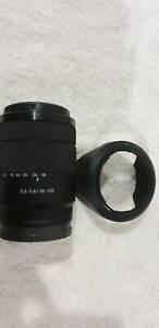 sony emount 18-135mm f3.5-5.6 oss exclude camera Port Hedland