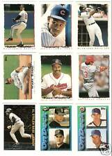 1995 Topps Baseball Lot - You Pick - Includes Stars, Inserts, Cyberstats, Traded