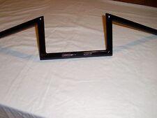 "7/8"" barras Manillar Wide Glide Z en negro hecho a medida para Tri BSA ñame, etc..."