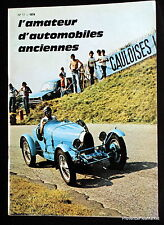 AMATEUR D'AUTOMOBILES OLD No. 17 1974