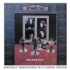Benefit [Bonus Tracks] [Remaster] by Jethro Tull (CD, Oct-2001, Chrysalis Records)