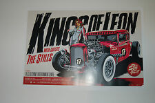 Kings Of Leon - 2009 - Ken Taylor - The Stills - Syndey- Mechanical Bull -Poster