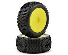 Losi Mini King Pin Pre-Mounted Rear Tyre Set (2) (Mini 8IGHT) #LOSB1890 OZ RC