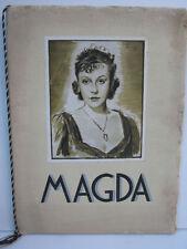 MAGDA - 1938  -C.FROELICH - Z.LEANDER - ACE / UFA -   H.FAIVRE - N°491