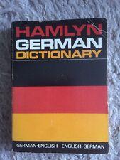 Hamlyn German Dictionary German English English German