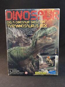 Kids Labs Dig a Dinosaur Skeleton Tyrannosaurus Rex by 4M