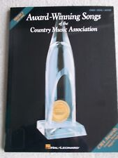 Award Winning Songs Country Music Asso V3 Voice Piano Guitar Unmarked