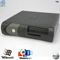 DELL OPTIPLEX GX150 PENTIUM 3 III COMPUTER PC WINDOWS 98 2000 PARALLEL 10GB 256
