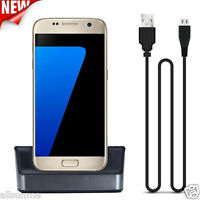 USB Data Sync Charger Docking Station Dock Cradle For Samsung Galaxy S7/ S7 Edge