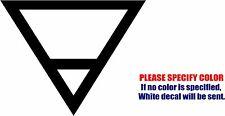 "Earth Elemental Symbol JDM Funny Vinyl Decal Sticker Car Window Bumper Laptop 9"""