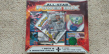 Pokemon TCG All-Star Power Box Sealed Deck Meowstic Legendary Treasures Packs