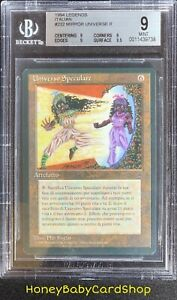 MTG Legends - Italian 1995 Mirror Universe BGS 9.0Q+ (Quad+) Mint 93/94