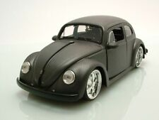 VW Käfer 1959 matt grau, Modellauto 1:24 / Jada Toys