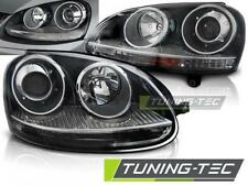 FARI ANTERIORI HEADLIGHTS VOLKSWAGEN GOLF 5 10.03-09 GTI BLACK *2980