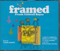 Framed Frank Cottrell Boyce 6CD Audio Book Unabridged Jason Hughes FASTPOST