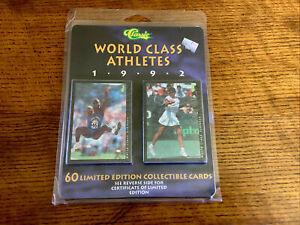 Classic 1992 World Class Athletes Limited Edition 60 Card Set Ali, Bird, Deion