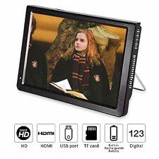 10 inch Portable Digital Television Small TV 1080P HD HDMI Video Player Handheld