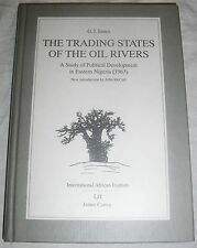 G.I. Jones the Trading States of the Oil Rivers-James currey Nigeria-Book