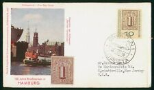 Mayfairstamps Germany FDC 1969 Stamps in Hamburg Boat First Day Cover wwp_91439