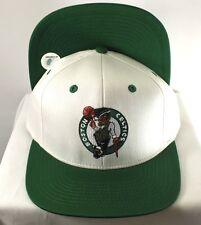 BOSTON CELTICS NBA RETRO VINTAGE SNAPBACK CAP WHITE GREEN HAT NEW BY ADIDAS be302cbef88