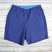 REI Men's Mesh Compression Short Lined Athletic Shorts S Small Blue