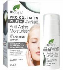 Dr.Organic Collagène + Acide Hyaluronique Anti-age Hydrater + Noir Perle Cplx