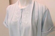 robe MISS ELAINE COLETTE zip leisure long vanity house dress waffle thermal-sm