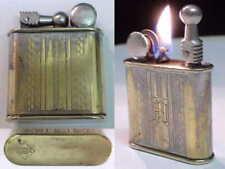 Briquet Ancien # JL type nova # Vintage fuel Lighter Feuerzeug accendino