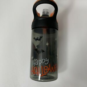 Happy Halloween Disney Mickey And Minnie Mouse Zak! Portable Water Bottle GUC
