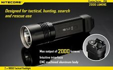 NITECORE P36 MT-G2 2000LM Dual Switch Tactical LED Flashlight