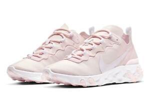 Nike Women's React Element 55 'Pale Pink' Shoes BQ2728-600