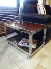 RARE RETRO DANISH mid-century modern Howard Miller MDA Rosewood Trolley / table