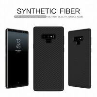 For Samsung Galaxy S10 Note 10+ 100% Real NILLKIN Carbon Fiber Hybrid Case Cover