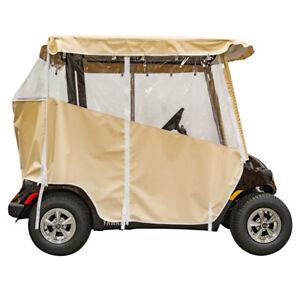 Yamaha Drive2 Over the Top Vinyl Golf Cart Enclosure Cover (2 Pass)