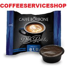 200 CAPSULE CAFFE BORBONE DON CARLO BLU COMPATIBILI LAVAZZA A MODO MIO